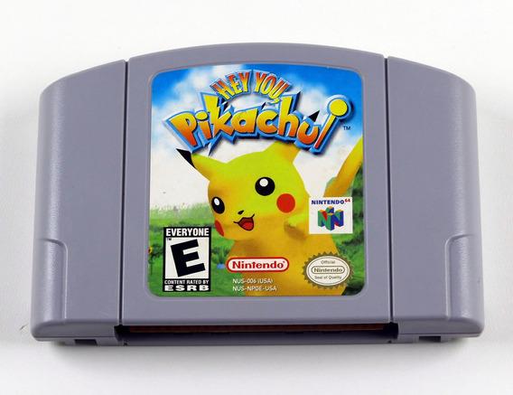 Hey You Pikachu Original Nintendo 64 N64