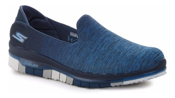 Zapatillas Skechers Go Flex Caminata Memory Foam Mujer