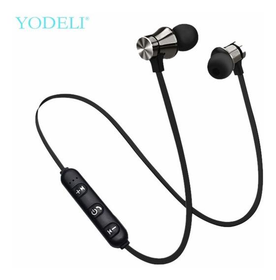 Fone De Ouvido Bluetooth Wireless Estéreo Sem Fio Preto