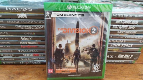 The Division 2 Xbox One Mídia Física Novo Português Lacrado