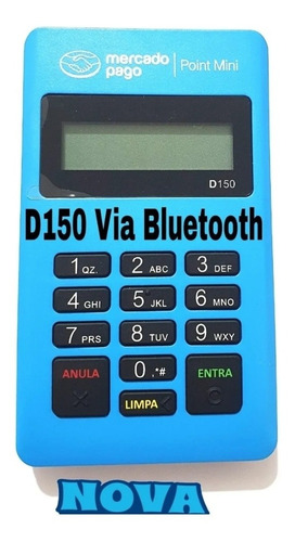 Imagem 1 de 7 de 5 Máquina De Cartão Débito/crédito Point Mini - Mercado Pago