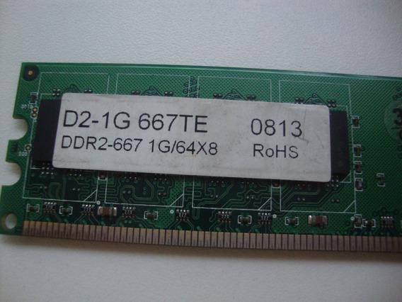 Unidade De Memória - Ddr2-667 1g/64x8 - Rohs 44365
