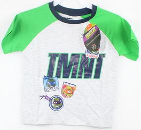 Playera Para Niño Marca Nickelodeon Tortugas Ninja Talla 2