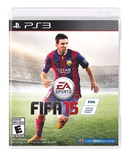 Jogo De Futebol Ps3 Play 3 Fifa 15 Novo Midifa Fisica Cd