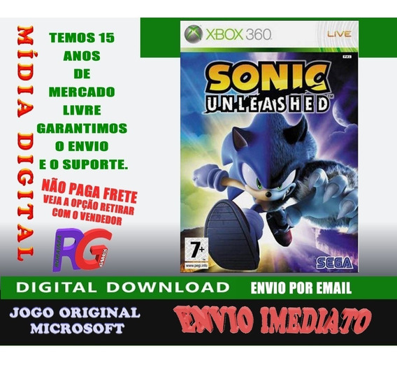 Sonic Unleashed Xbox 360 Roraima Games