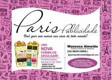 Paris Publicidade Em Saco De Pao