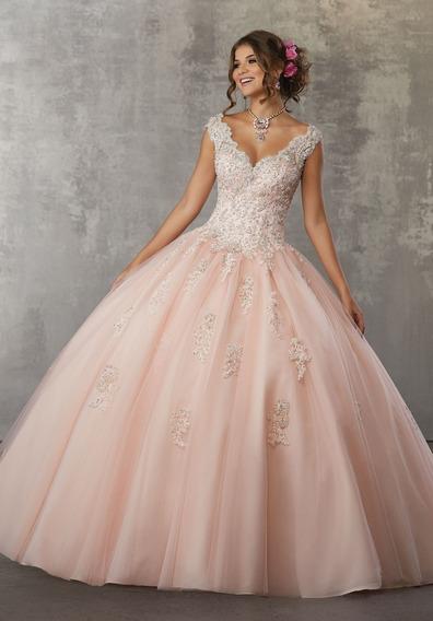 Vestido De Xv Morilee Modelo 60033Color Blush