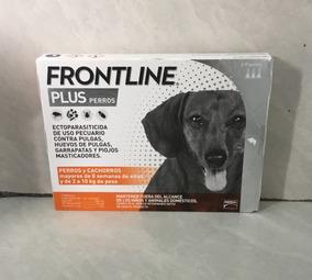 Frontline Plus 2 A 10 Kg De Peso Paquete De 3 Pipetas