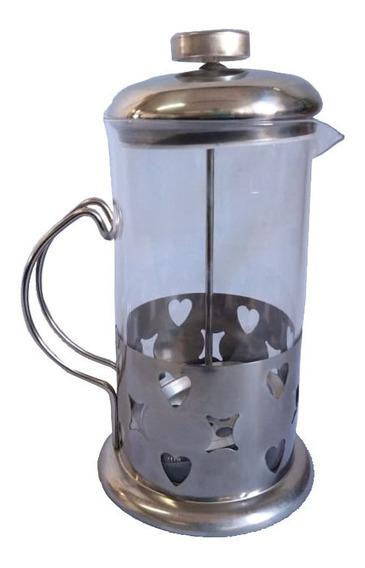 Cafetera Embolo 600 Ml Corazon