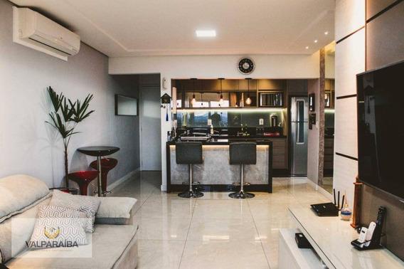 Apartamento À Venda, 90 M² Por R$ 480.000,00 - Jardim Estoril - São José Dos Campos/sp - Ap0484