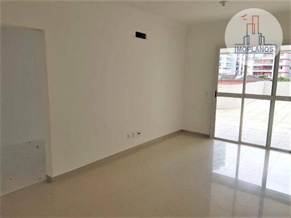 Apartamento Com 2 Dormitórios À Venda, 100 M² Por R$ 495.000 - Canto Do Forte - Praia Grande/sp - Ap11349