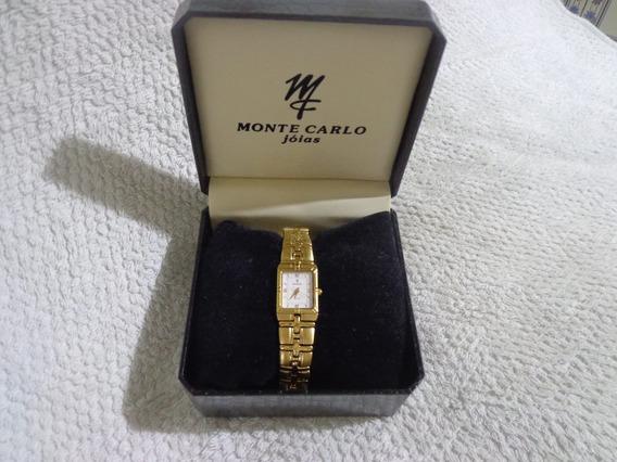 Relógio Feminino Vintage Monte Monte Carlos Certificado