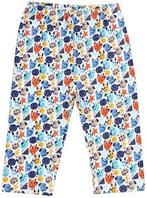 Zutano Mighty Dog Pants Baby Multicolor3 Meses