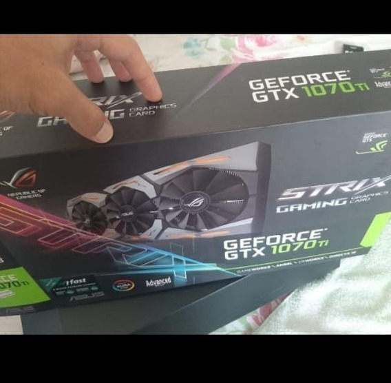 Placa De Video Gtx1070ti Seminova