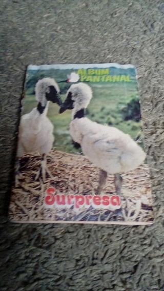Album Chocolate Surpresa Pantanal Completo.