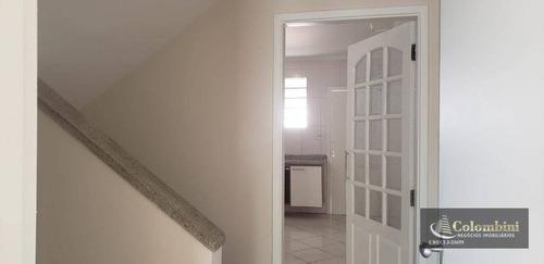 Imagem 1 de 12 de Sobrado Com 2 Dormitórios Para Alugar, 140 M² - Jardim - Santo André/sp - So0182