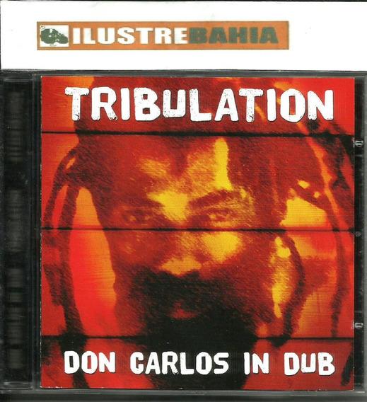 Don Carlos (cd) In Dub Tribulation (raridade)