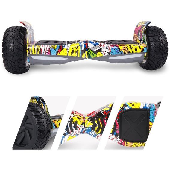 Scooter Off Road 8,5( Bateria Samsung) Hip Hop Amarelo