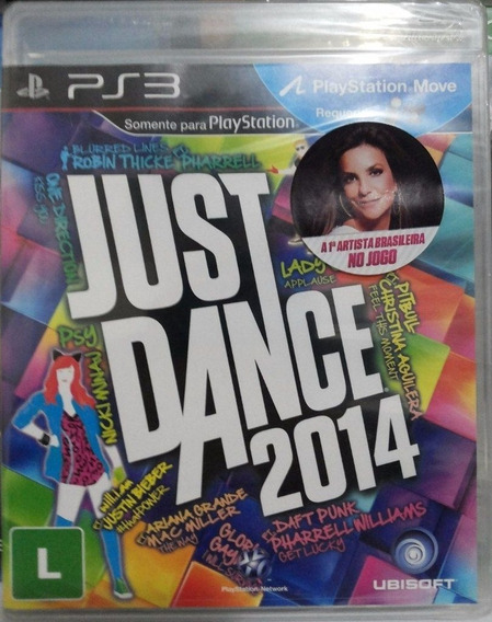 Ps3 Game Just Dance 2014 Físico Ubisoft Pronta Entrega