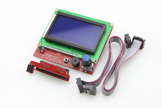 Display Visor Lcd Ramps 1.4 Reprap 128x64 Impressora 3d