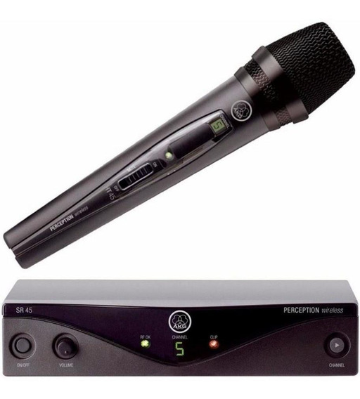 Microfone Sem Fio Akg Pw Vocal Set A45