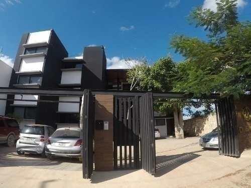 Departamento En Planta Baja Y Amueblado En Renta, Odella, Temozón, Mérida