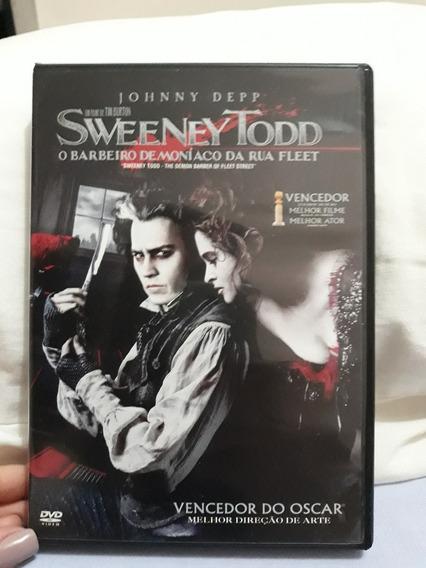Dvd Filme Sweeney Todd - Original