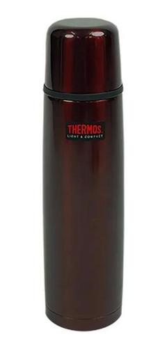 Garrafa Termica Inox Thermos Cairo Vermelha 500ml 12h Quente
