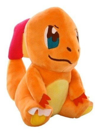 Pelúcia Turma Pokémon Charmander Mini (12cm) - Importada
