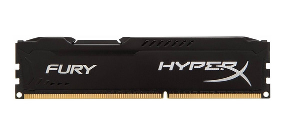 Mem Ddr3 8gb 1600mhz Kingston Hyper-x Black Fury Series