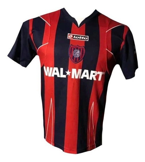 Camiseta De San Lorenzo 2008 Lotto #13 Talle Xl De Niños