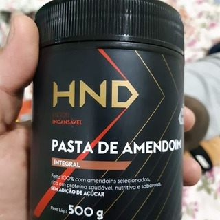 Pastas De Amendoim Integral E Integral Com Cacau Hnd.