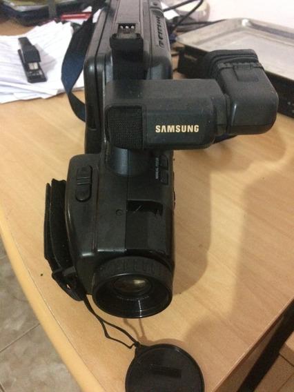 Filmadora Samsung Vhs Scf755 Leia O Anuncio