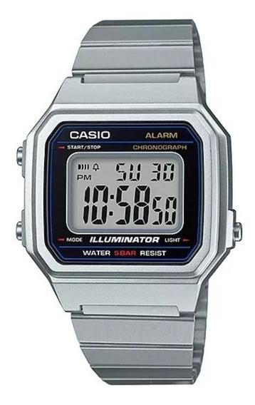 Relógio Casio Usissex Vintage Prata B650wd-1adf Original