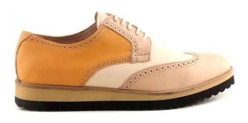 Zapato Abotinado Mujer Cuero Briganti Combinado - Mccha2973