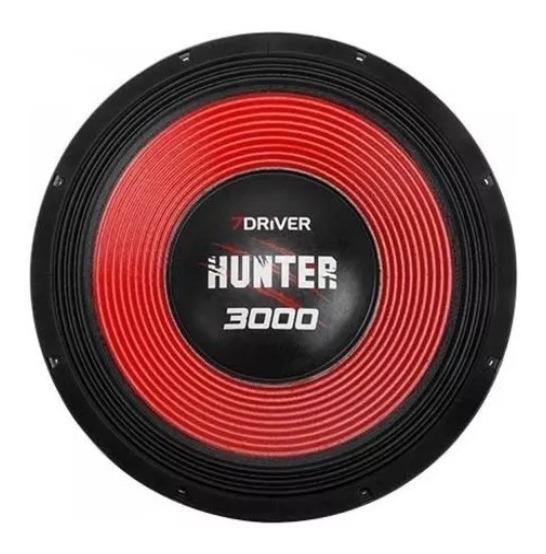 Alto Falante Woofer 7 Driver 3000 1500rms 15pol Hunte Driver