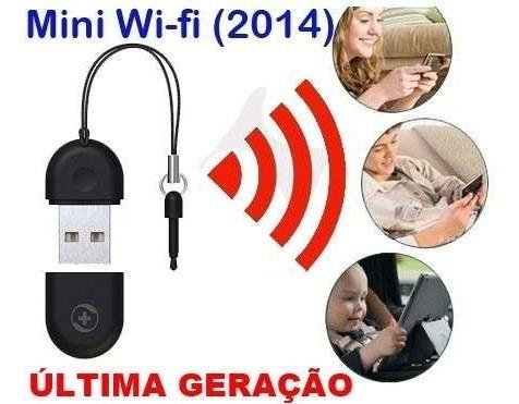Mini Roteador Adaptador Transmissor Usb Wifi360 (frete R$20)