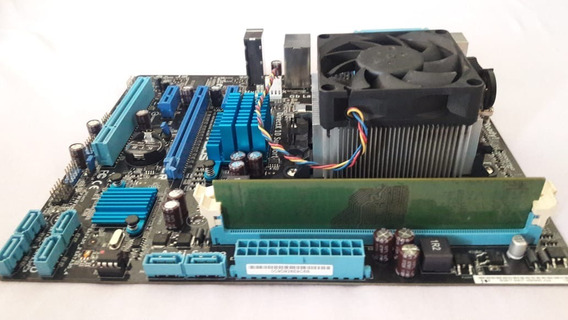 Kit Placa Mãe Asus M5a78l-m Lx/br + Processador Amd Fx 6300