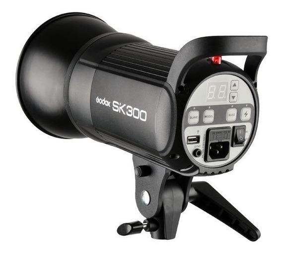 Flash Sk 300 Greika/godox Para Estudio Fotográfico 220v