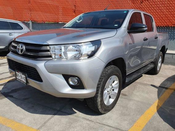 Toyota Hilux 2.7 Sr Mt 2019 Plata Comonueva 3 Años Garantia