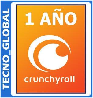 Crunchyroll Premium. Anime Manga Y Drama Calidad Hd (1 Año).