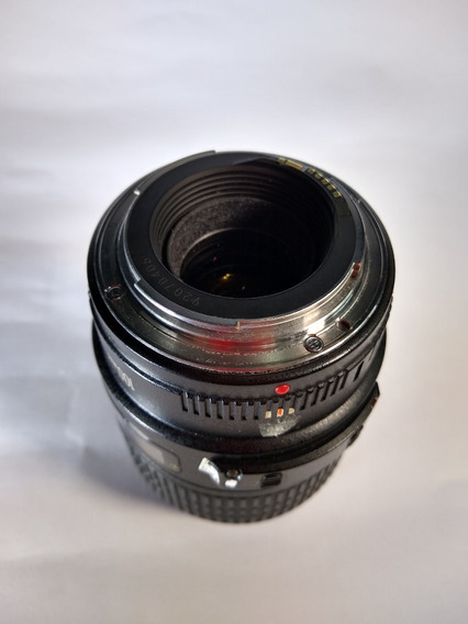Lente Canon Ef 100mm Macro 2.8 Usm Ultrasonic