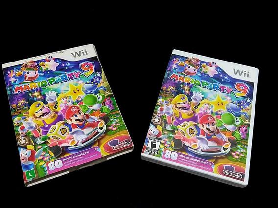 Mario Party 9 Nintendo Wii Original Americano Completo