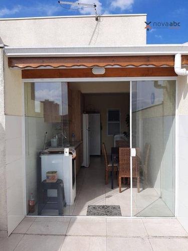 Cobertura Com 2 Dormitórios À Venda, 50 M² Por R$ 378.000 - Vila Marina - Santo André/sp - Co1129