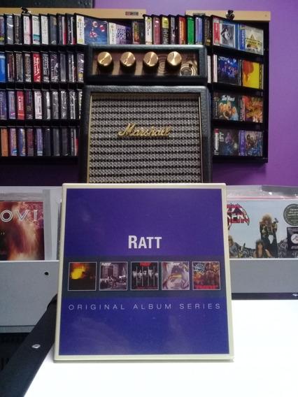 Ratt- Box Set 5 Cds. Union Europea.