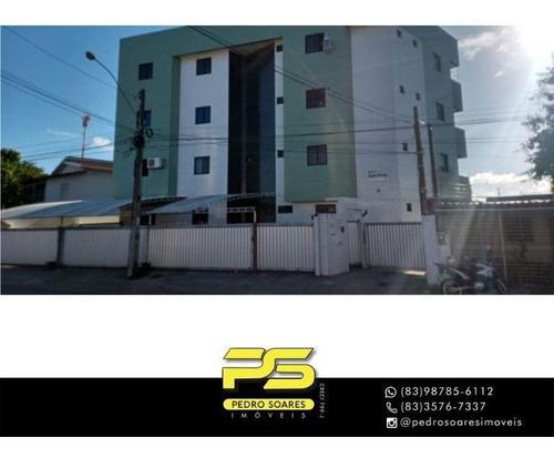 Apartamento Com 2 Dormitórios À Venda, 56 M² Por R$ 150.000,00 - Cuiá - João Pessoa/pb - Ap4549