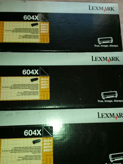 Toner 604x Original 20 Mil Copias