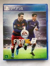 Jogo Para Videogame Fifa 16 Playstation 4 Ps4 Seminovo