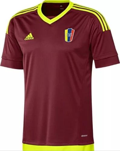 Camisa Futbol Caballero Vinotinto