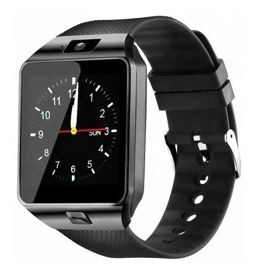 Smartwatch Bluetooth Ranura Chip Sim Android Dz09